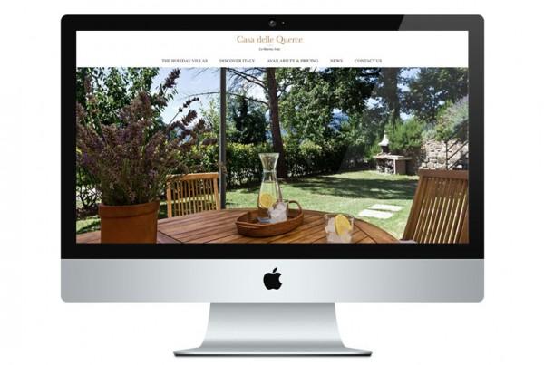 Holiday let website design